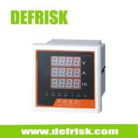 Buy cheap Single phase Combination Digital Panel Meter V A Hz, Digital Current Meter,voltmeter,Ammeter from wholesalers
