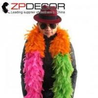 Buy cheap ZPDECOR Turkey Boa 2yards/lot 150g Fully Quality Assurance Turkey Chandelle Feather Boa from wholesalers