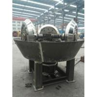 Buy cheap wet pan mill with 3 wheel gold recovery rate reach 80% from wholesalers