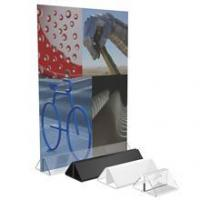 Buy cheap Clear Acrylic Menu Showcard Leaflet Holder from wholesalers