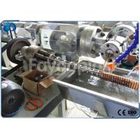 Buy cheap Soft Spiral Reinforced Suction Hose Making Machine , Extensible Spring Hose Extrusion Line from wholesalers