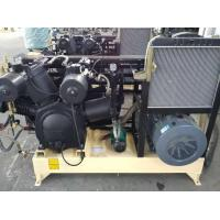 Buy cheap Water Cooling Piston Air Compressor Reciprocating Three Stage With Silencer from wholesalers