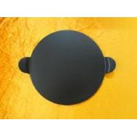 Buy cheap Glazed PIZZA board-13 inch Pizza Stone with Handles, Black from wholesalers