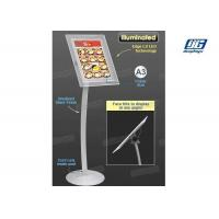 Buy cheap A3 Poster Display Stands , Illuminated LED Poster Frame StandBevel Display from wholesalers