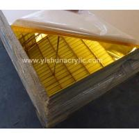 Buy cheap 3mm golden mirror sheet product
