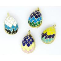 Buy cheap Wholesale 3D Russia enamel Faberge egg pendant for necklace (Enamel jewellery) from wholesalers