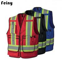 Buy cheap Poly Cotton Fire Flame Safety Reflective Vests from wholesalers