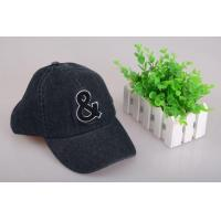 Buy cheap Baseball Cap Men's Pattern Symbols Sport Black Denim Baseball Cap from wholesalers