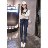 Buy cheap In the autumn of 2016 elastic waist jeans female slacks feet from wholesalers