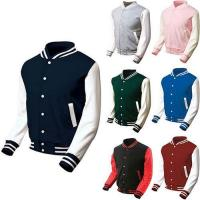 Buy cheap Custom Plain Different Colors Baseball jackets from wholesalers