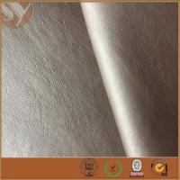 Buy cheap 100%rayon fabric backing PU leather for women jackets product