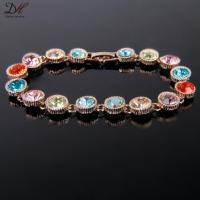 Buy cheap new style crystal beads hang tag for garment jewelry tag bracelet BC1638 from wholesalers