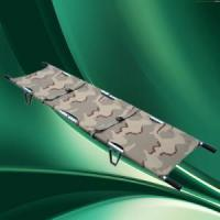 Buy cheap Stretcher Aluminium Alloy Emergency Pole Foldable Stretcher with carry bag. from wholesalers