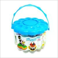 Buy cheap Flower-Shaped pail Play Dough from wholesalers