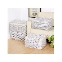 Buy cheap waterproof friendly cotton storage bag for quilt bag and cloth from wholesalers