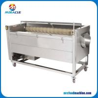 Buy cheap Brush Type Fruits and Vegetables Washing Machine for Roots Vegetable from wholesalers