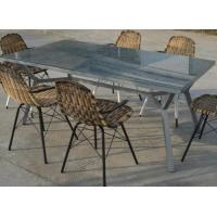 Buy cheap HOT SALE Rattan Dining Set With Table And Chairs from wholesalers