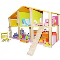 Buy cheap Doll house HM1020562Funny wooden doll house from wholesalers
