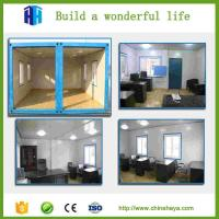 nantong huasha Insulated feat build portable type container hotel