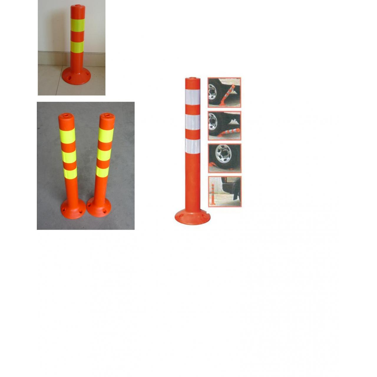 Buy cheap Traffic Roadway Safety facilities PVC Reboundable Post/PU Reboundable Post from wholesalers