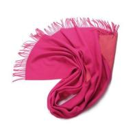 Buy cheap Women Silver Double Jacquard Weave Pure Pink,cream Warm Winter Wool Pashmina Shawl with Tassels from wholesalers