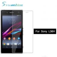 Buy cheap 2.5D 9H Clear Dustproof Anti Fingerprints Tempered Glass Screen Protector For Sony Z L36H from wholesalers