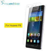 Buy cheap New Arrival Clear Tempered Glass Screen Protector For Huawei P8 from wholesalers
