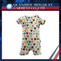 Buy cheap colorful echo-friendly dyeing and printing newborn baby wear from wholesalers