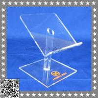 Buy cheap Curved Acrylic Cell Phone Display Stand Pedestal from wholesalers
