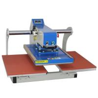 Buy cheap Automatic Pneumatic Upper Glide Double Station Heat Press Machine product