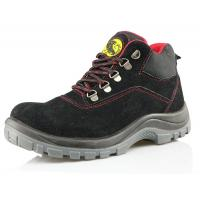Buy cheap SD103 tiger master brand black suede leather working boots from wholesalers
