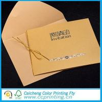 Buy cheap Gift Card Wedding with Ribbon product