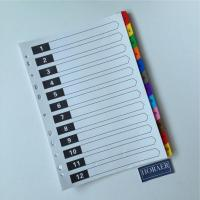 Buy cheap Office  Paper Index Divider (1-12 tab set) from wholesalers