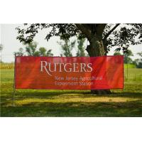 High Quality and High Resolution Large Format Advertising Promotional Mesh Banner Printing