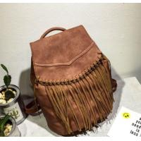 Buy cheap New Fashion PU Leather Shoulder Bag Women&Girl Fringe Tassel Backpack School Bags from wholesalers