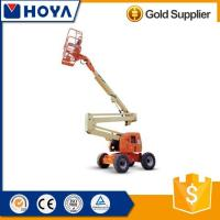 Buy cheap 17m height aerial hydraulic boom lift working platform from Wholesalers