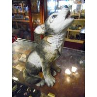 Buy cheap Art Glass Lenox Grey wolf pup porcelain figurine Smithsonian Collection 1992 from wholesalers