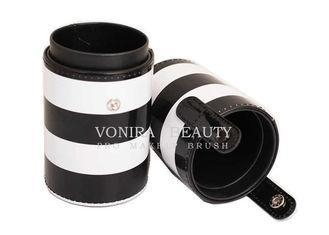 Buy cheap Leather Holder Makeup Brush Bag Travel Jar Cup / Makeup Travel Case from wholesalers
