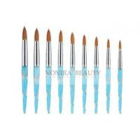 Buy cheap 3D Effect Painting Acrylic Nail Art Brush Kit With Finest Pure Kolinsky Hair from wholesalers
