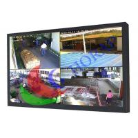 Buy cheap Light Weight 24 Inch Panel Mount Lcd Display , Waterproof Rackmount Lcd Monitor BNC Input from wholesalers