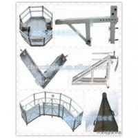 Buy cheap Temporary gondola / steel suspended working platform / window cleaning building from Wholesalers