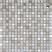 Buy cheap Mixed Metal Mosaic RS2107 Painting Series Glass Mixed Stone Mosaic from wholesalers