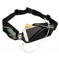 Buy cheap Running Pouch Belt Fanny Waist Pack with Two Pocket Reflective Crotch and Opening for Headphones from wholesalers