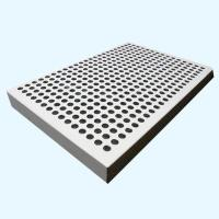 Buy cheap 25mm Perforated White Color Aluminum Honeycomb Panels from wholesalers