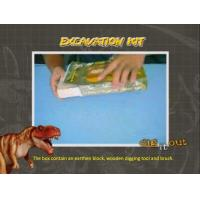Buy cheap Toys & Hobbies Dino Skeleton Gift Box Excavatioin Kit/Dig it Out Toys from wholesalers