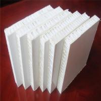 Buy cheap Gel Coated White Color FRP PP Honeycomb Panels for Truck Body from wholesalers