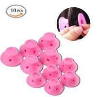 Buy cheap 10pcs silicone peco hair roller from wholesalers