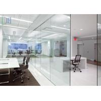 Buy cheap Popular Aluminium Office Partition Soundproof / Heat Insulation For Office Wall from wholesalers