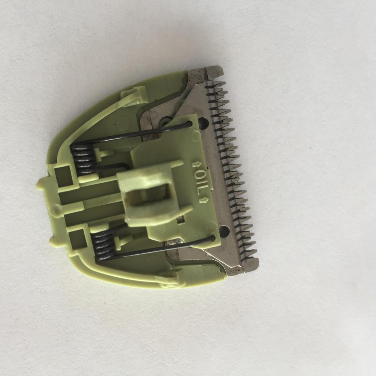 Buy cheap Professional Hair Clipper Replacement Blades Green Color Customized Logo from wholesalers
