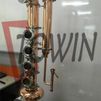 Buy cheap Distillation Equipment Copper Distillation Columns from wholesalers